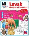 LOVAK - MATRICÁS REJTVÉNYFÜZET - MI MICSODA JUNIOR