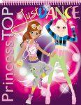 PRINCESS TOP - JUST DANCE (PURPLE)