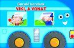 GURULÓ KEREKEK - VIKI A VONAT
