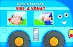 GURULÓ KEREKEK - VIKI, A VONAT