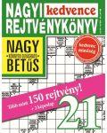 NAGYI KEDVENCE REJTVÉNYKÖNYV 21.