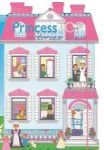 PRINCESS TOP - VICTORIAN HOUSE (BLUE)