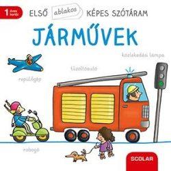 JÁRMŰVEK - ELSŐ ABLAKOS KÉPES SZÓTÁRAM