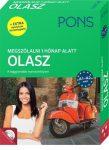 PONS MEGSZÓLALNI 1 HÓNAP ALATT – OLASZ (KÖNYV + CD) - ÚJ