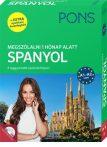 PONS MEGSZÓLALNI 1 HÓNAP ALATT – SPANYOL (KÖNYV + CD) - ÚJ