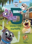 DISNEY JUNIOR PUPPY DOG PALS -  5 PERCES MESÉK